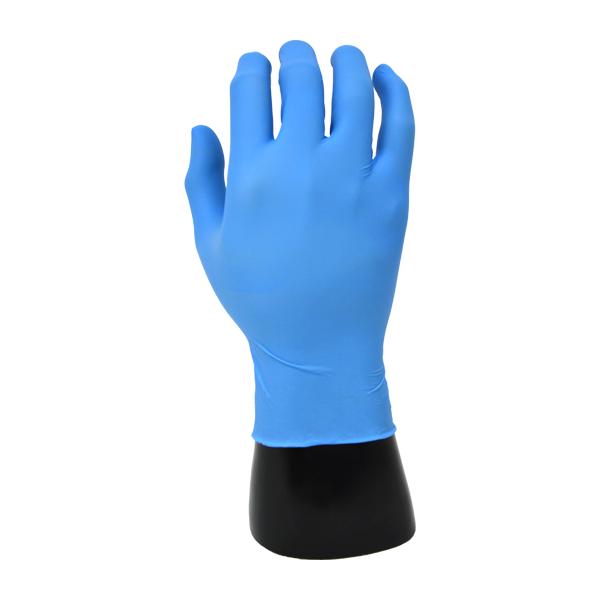 Guante Nitrilo 2.8 mil Clorado con Dedos Texturizados Desechable EDGE Ansell (Paq. con 100 Pieza) Azul 82-134 - 0