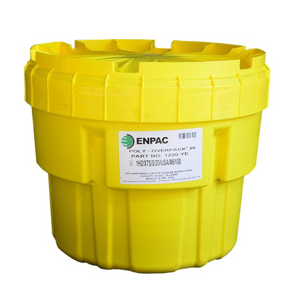 Kit Antiderrames Universal Enpac Amarillo 1420-YE 20 gal - 0