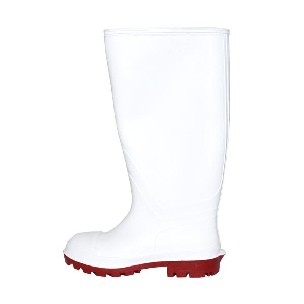 Bota Industrial Sanitaria con Casco Pro Rubber Blanco, IIC - 1